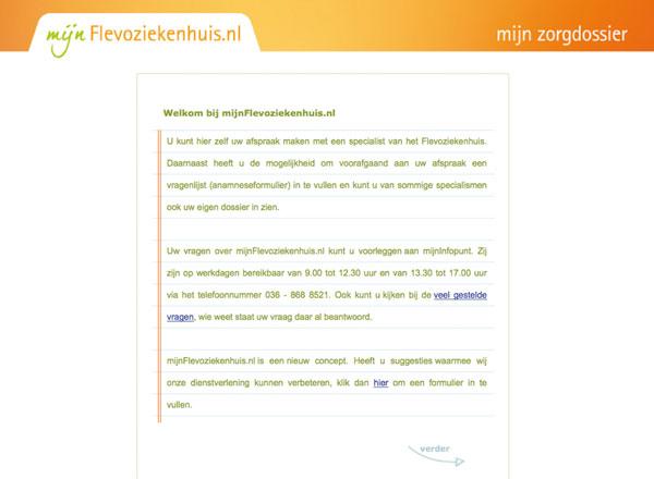 ontslagbrief ziekenhuis voorbeeld Onlinedossier geeft patiënt de regie | medischcontact ontslagbrief ziekenhuis voorbeeld