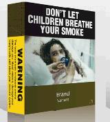 Saai sigarettenpakje heeft geen neveneffecten